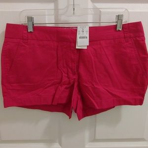 J.Crew Chico pink shorts size 10